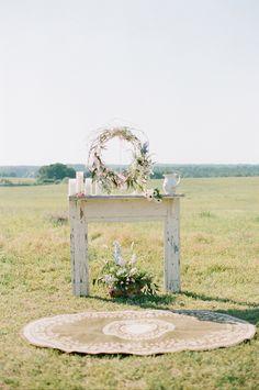 "rustic outdoor chapel ""altar"" #wedding"