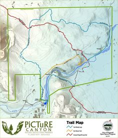 Phoenix mountains preserve trail map trailforks hiking picture canyon preserve trail map sciox Choice Image