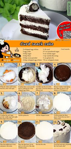 The Curd snack cake is an amazing dish you have to try at least once! But trust me, you'll try it a second and third time as well! You can easily find the Curd Snack Cake recipe by scanning the QR code in the top right corner! Jaffa Cake, Hungarian Recipes, Hungarian Food, Oreo Cake, Baking Tins, Food Cakes, Clean Eating Snacks, Quiche, Cookie Recipes