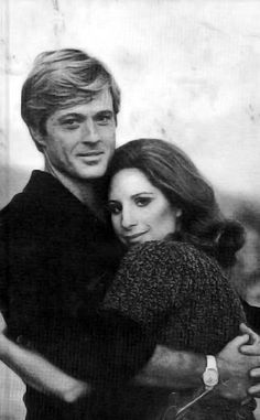 Robert Redford and Barbra Streisand in The Way We Were
