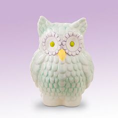 Merry Go Round Pitter Patter Owl Bank by Gorham®