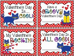 Pete the Cat Valentine Freebie from Barnard Island on TeachersNotebook.com -  (2 pages)  - I know your kiddos will enjoy this Pete the Cat Valentine's Day Freebie!