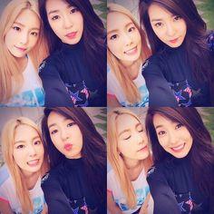 SNSD Tiffany, Taeyeon