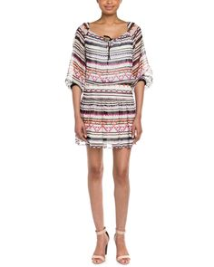 BCBGMAXAZRIA Rory Woven Silk Dress is on Rue. Shop it now.