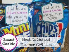 Great back to school teacher gift idea #backtoschool #gifts #crafts