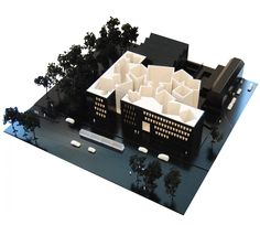 Model : U.S. Embassy, The Hague, Netherlands | Architect : Marcel Breuer