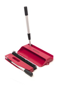 Broomy: Looking for a great unique gift for a mom, dad, teacher, worker, friend, or even kid in college?  Everyone struggles to find storage for their cleaning stuff.  Now there's Broomy!  This amazing transformable broom and dust pan is a hand held brush set, short handle cleaning set, and full sized stand up set all in one. The innovative patent-pending design takes the best of all dust pan, broom and brush sets and combines them into a sleek compact unit about the size of a tablet! $24.99