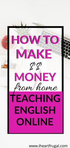 Earn Money From Home, Way To Make Money, Make Money Online, How To Make, Money Tips, Money Saving Tips, Home Teaching, Perfect Money, Teaching English Online