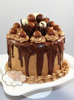 Chocolate Truffle Cake - Cake by Peggy Does Cake