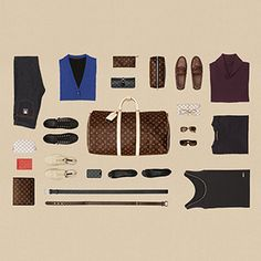 Experience the Art of Packing and learn how to pack your bags with by Louis Vuitton.