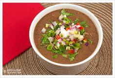Black bean soup, South beach and Black beans on Pinterest
