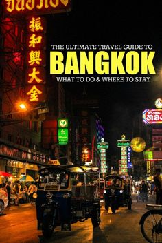 The best travel tips for your first time in Bangkok, what to do, where to stay and what to eat. The ultimate travel guide to Thailand's capital, with local experiences and insider's tips.