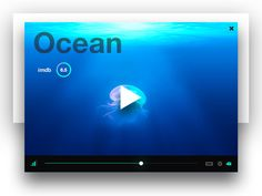 Video Player UI by Etienne Planeix