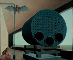 Carl Grossberg, Steam Boiler with Bat, 1928.