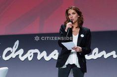 Paris : Sylvia Pinel et Mélissa Theuriau mobilisées contre le mal-logement - Société - via Citizenside France. Copyright : Christophe BONNET - Agence73Bis