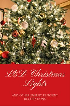 How to reduce your energy consumption this holiday season while still enjoying a little bling.
