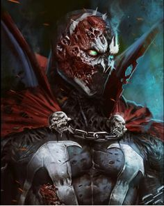 Spawn Comic Book Characters, Comic Books Art, Comic Art, Spawn Comics, Anime Comics, Joker Art, Image Comics, Dark Ages, Dark Souls