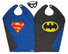 batman-superman cape with mask!