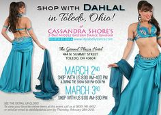 Shop with Dahlal in Toledo this weekend!