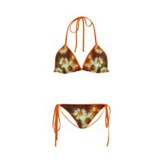 Daisy Chain Custom Bikini Swimsuit.