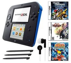 Nintendo 2DS with Transformers, 2 More Games &Accessories — QVC.com