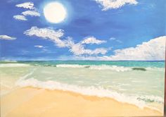 Check out this item in my Etsy shop https://www.etsy.com/listing/188613608/beach-landscape-18x24-save-25-with