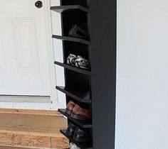 Custom Built DIY Shoe Rack