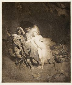 Today's Classic: The Illustrations of Norman Lindsay Don Juan in Hell C Sharp Minor Quartet Enter the Magicians Debut Tom O'Bedlam The. Norman Lindsay, Black White Art, Australian Artists, Fantastic Art, Erotic Art, Oeuvre D'art, The Magicians, Great Artists, Cool Drawings