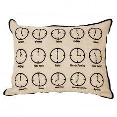 Mini Clock Cushion