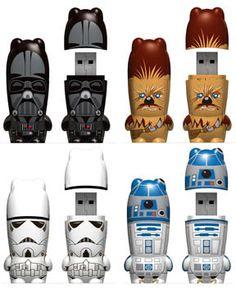 Star Wars USB's.
