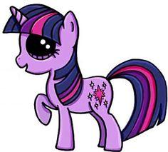 My Little Pony Twilight Cute Easy Drawings, Cute Kawaii Drawings, Kawaii Doodles, Cute Animal Drawings, Cute Drawlings, Cute Art, Disney Drawings, Cartoon Drawings, Kawaii Girl