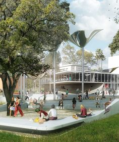 OMA, MLA, + IDEO team selected to design FAB park in downtown los angeles
