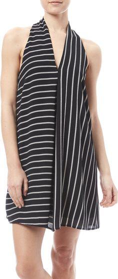 HYFVE Striped Halter Dress - $34.99