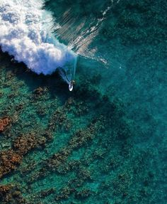 Check out our Surf clothing here! http://ift.tt/1T8lUJC Super shallow reef break. | Credit: @benthouard | #surf #surfing #reefbreak #reef #dronephotography #fromabove #birdseyeview #stoke #wave #barrel #swell #surflife #surfphotography #travel #awesome #bluewater #ocean #Clearwater #oceanlife #ialandlife #tropical #paradise