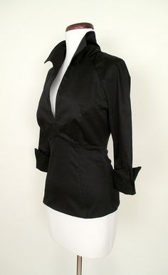 1950's Lauren Bacall Blouse | Catnip Reproduction Vintage Clothing