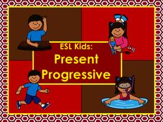 This product reviews several aspects of the present continuous / present progressive and introduces 12 common verbs for students that are used throughout the packet.  This product is designed for grades 1-4. This product includes:1. Verb Clip CardsUsing a clothes pin or paper clip put the clip on the word that shows the verb acted out above.