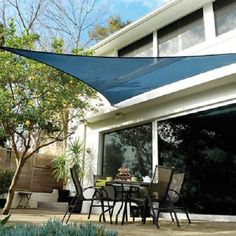 15' x 12' x 9' Triangle Coolhaven Shade Sail with DIY Accessory Kit Coolaroo Shade Sail, Triangle Shade Sail, Sun Sail Shade, Shade Sails, Sail Canopies, Canopy Tent, Shade Sail Installation, Portable Shade, Gardens