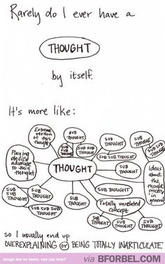This is my exact thought process. It is never just ONE thought.