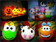 Kreasi #lampubenang - Shiny Lantern