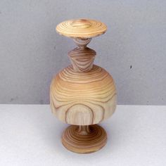 wooden lady - made of ash wood