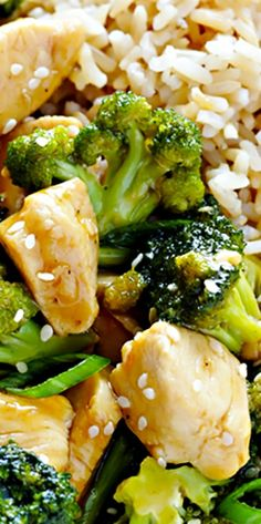12-Minute Chicken and Broccoli