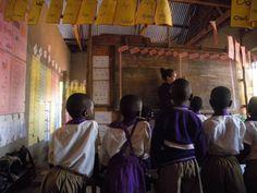 Volunteers in Uganda Bulenga Social welfare programs June - July 2014  https://www.abroaderview.org/  #abroaderview #uganda #bulenga #charity #volunteer