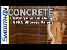 Casting GFRC with Forton VF-774 to create shower panels. Multiple GFRC panels of different sizes and shapes will be made from this single texture mat mold to...