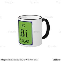 Kristoff periodic table name mug periodic table bibi periodic table name mug urtaz Choice Image