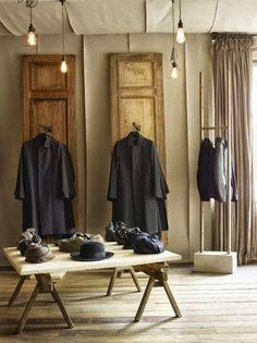 Hostem, una boutique de lujo al más puro estilo vintage industrial. Londres