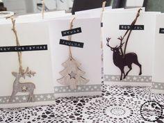Käsin taiottu: Nopeat ja helpot joulukortit