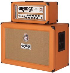 Orange Amps....a thing of beauty is a joy forever!