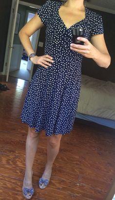 Stitch Fix #6 Leota Abilene Polka Dot Dress https://www.stitchfix.com/referral/3499795