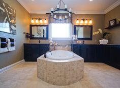 A Life Tested® bathroom is luxurious, usable and relaxing. | Pulte Homes