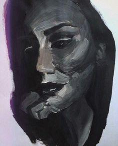 "Artwork by Mara Ungurean ""Autoportrait """